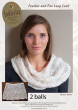Load image into Gallery viewer, patterns for suri alpaca silk knitting yarn