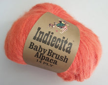 Load image into Gallery viewer, alpaca 14 ply tangerine