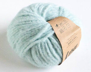 Cozee Alpaca duck egg blue