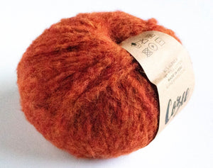 Cozee Alpaca burnt orange