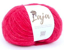 Load image into Gallery viewer, Laja alpaca merino chunky hot pink