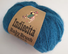 Load image into Gallery viewer, Alpaca 14ply brushed deep teal