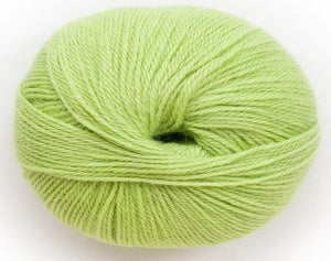 Alpaca 4ply bright lime