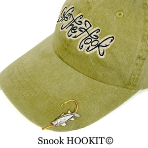 SNOOK HOOKIT© Hat Hook - Fishing Hat Clip