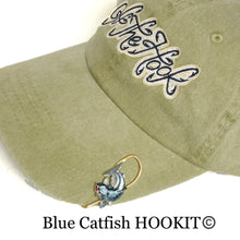 Load image into Gallery viewer, BLUE CATFISH HOOKIT© Hat Hook - Fishing Hat Clip