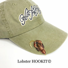 Load image into Gallery viewer, LOBSTER HOOKIT© Hat Hook - Fishing Hat Clip