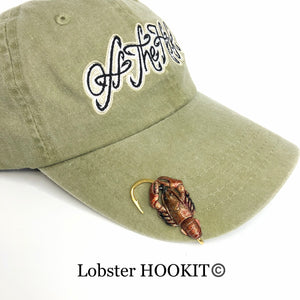 LOBSTER HOOKIT© Hat Hook - Fishing Hat Clip