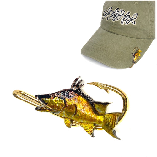 HOGFISH HOOKIT© Hat Hook - Fishing Hat Clip