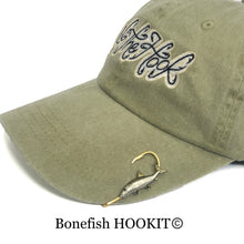 Load image into Gallery viewer, BONEFISH HOOKIT© Hat Hook - Fishing Hat Clip