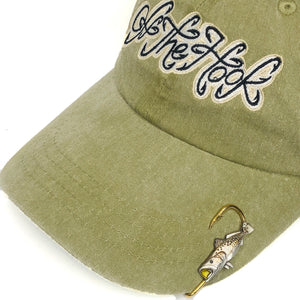 YELLOW MOUTH SPECKLE TROUT HOOKIT© Hat Hook - Fishing Hat Clip