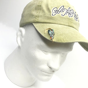 GREEN WINGED TEAL HOOKIT© Hat Hook - Fishing Hat Clip