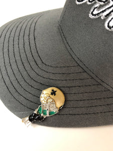NEW ORLEANS SAINTS HOOKIT© Hat Hook - Fishing Hat Clip