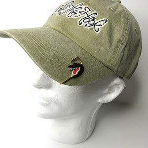 ALLIGATOR HEAD HOOKIT© Hat Hook - Fishing Hat Clip