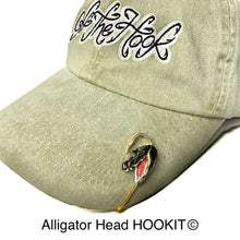 Load image into Gallery viewer, ALLIGATOR HEAD HOOKIT© Hat Hook - Fishing Hat Clip