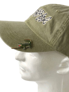 ALLIGATOR HOOKIT© Hat Hook - Fishing Hat Clip