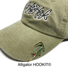 Load image into Gallery viewer, ALLIGATOR HOOKIT© Hat Hook