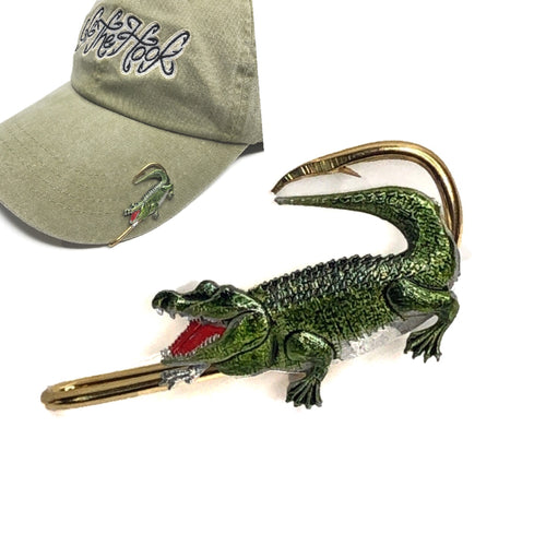 ALLIGATOR HOOKIT© Hat Hook