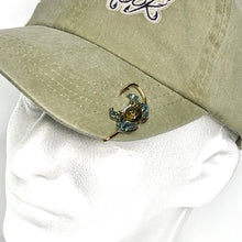 Load image into Gallery viewer, BLUE CRAB HOOKIT© Hat Hook - Fishing Hat Clip - Hat Pin