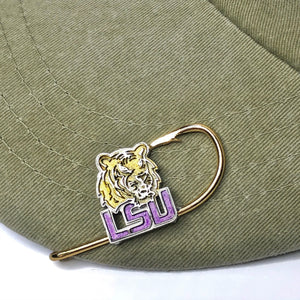 LSU TIGER HOOKIT© Hat Hook - Fishing Hat Clip