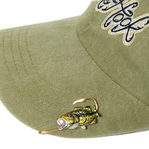 LARGE MOUTH BASS HOOKIT© Hat Hook
