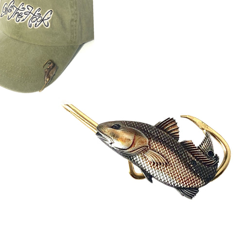 BULLRED HOOKIT© Hat Hook - Fishing Hat Clip