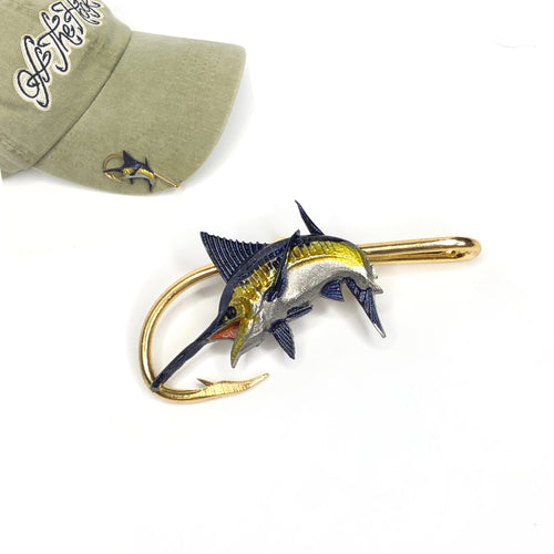 MARLIN HOOKIT© Hat Hook - Fishing Hat Clip