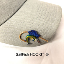 Load image into Gallery viewer, SAILFISH HOOKIT© Hat Hook - Fishing Hat Clip