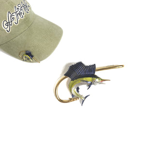 SAILFISH HOOKIT© Hat Hook - Fishing Hat Clip