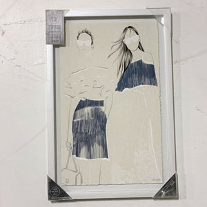 Marmont Hill Wall Art (Two Women)