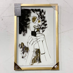 Marmont Hill Wall Art (Singer/Gold Frame)