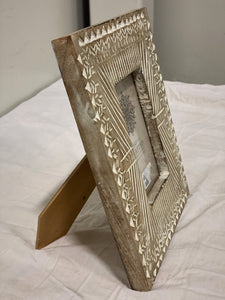 Wood Boho Picture Frame