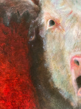 Load image into Gallery viewer, Original Oil on Canvas 'Calf' Painting