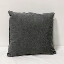 Load image into Gallery viewer, Grey Knit Throw Pillow