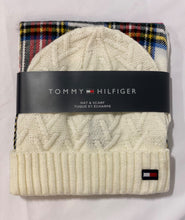 Load image into Gallery viewer, 'Tommy Hilfiger' Toque & Scarf Set
