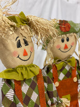 Load image into Gallery viewer, Stand-Alone Scarecrows (Set of 2)
