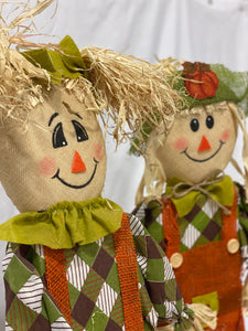 Stand-Alone Scarecrows (Set of 2)