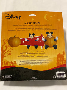 Mickey Mouse Pumpkin Push-Ins