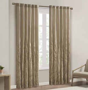 Madison Park Andora Window Panel (Tan)