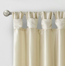 Load image into Gallery viewer, Madison Park 'Emilia' Twist Tab Window Curtain Panel
