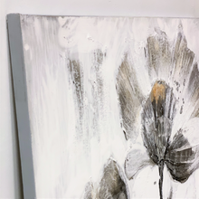 Load image into Gallery viewer, Textured Neutral Poppy Canvas