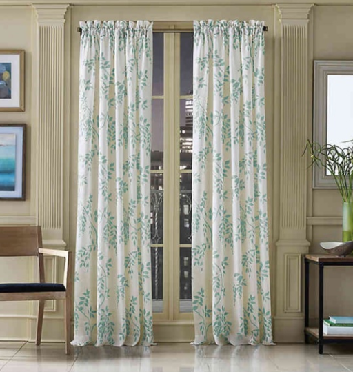 J. Queen 'Winslow' Sheer Curtain Panel