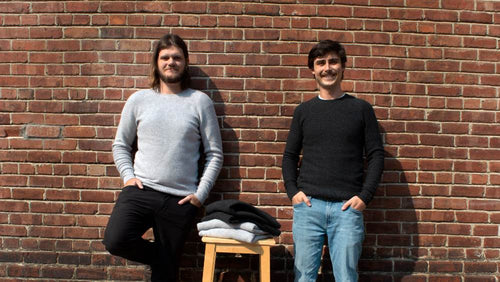 OLIVER CHARLES - Founders, Sweater Enthusiasts, And Lifelong Friends, Slater and Jack