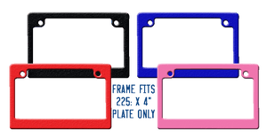 frame colors available Black, Blue, Red and Pink
