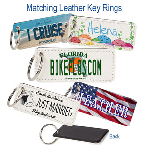 Leather Key Chains - Get A Matching Key Ring