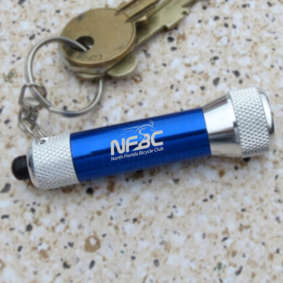NFBC LED Flash Light Key Ring