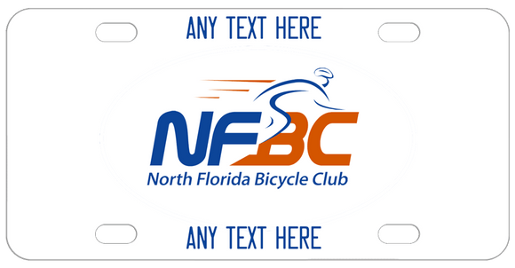 NFBC logo in center custom text on top and bottom