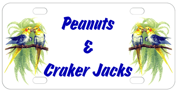 personalized parakeet cage name tag plate with any name