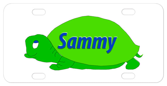 cute turtle cartoon with any name in the shell perfect for pet turtle homes