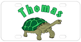 Illustration of turtle walking makes a great turtle crossing sign for your fence or pets tank