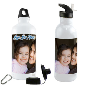 Water bottles personalized with your photo or digital image